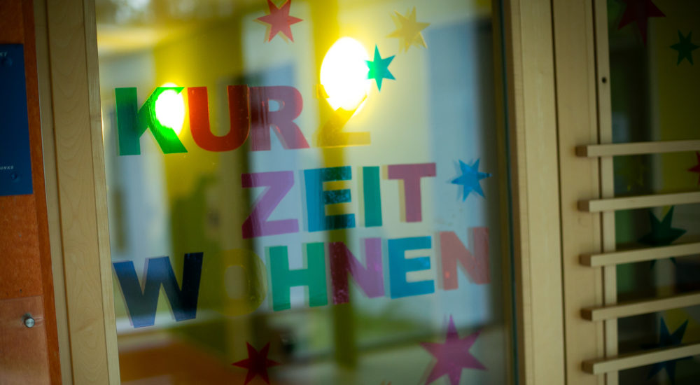 Die Eingangstüre vom Kurzzeitwohnen ©Helfende Hände/Fabian Helmich