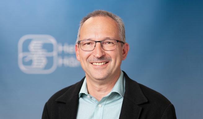 Dr. Harald Hilbig, Vorstand ©Helfende Hände/Fabian Helmich