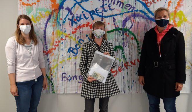 Spendenübergabe der Grundschule Lochham im Helfende-Hände-Förderzentrum.