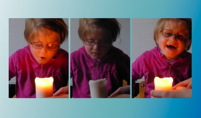 """8.12. Den Advent mit allen Sinnen erleben: """"Advent, Advent, ein Lichtlein brennt. Erst eins – dann keins – dann wieder eins! …und mittlerweile natürlich zwei."""""""