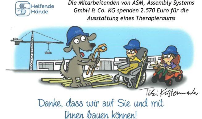 Zeichnung von Werner Tiki Küstenmacher für ASM
