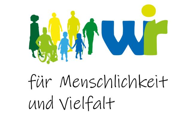 Logo der Erklärung für Menschlichkeit und Vielfalt