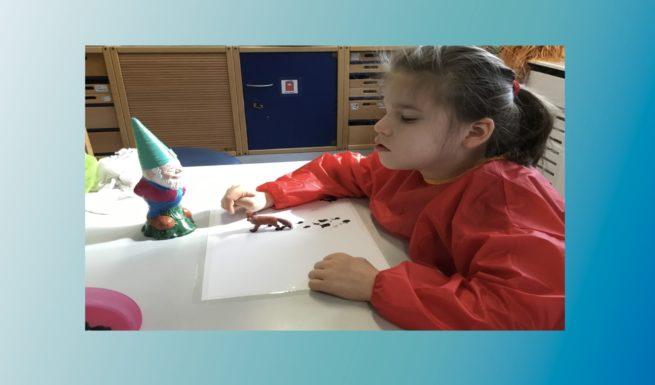 Emilia bei Helfende Hände im Förderzentrum